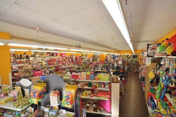 Sortimentsübersicht Spielzeugladen Kuschelbär